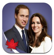 royal tour app + canada