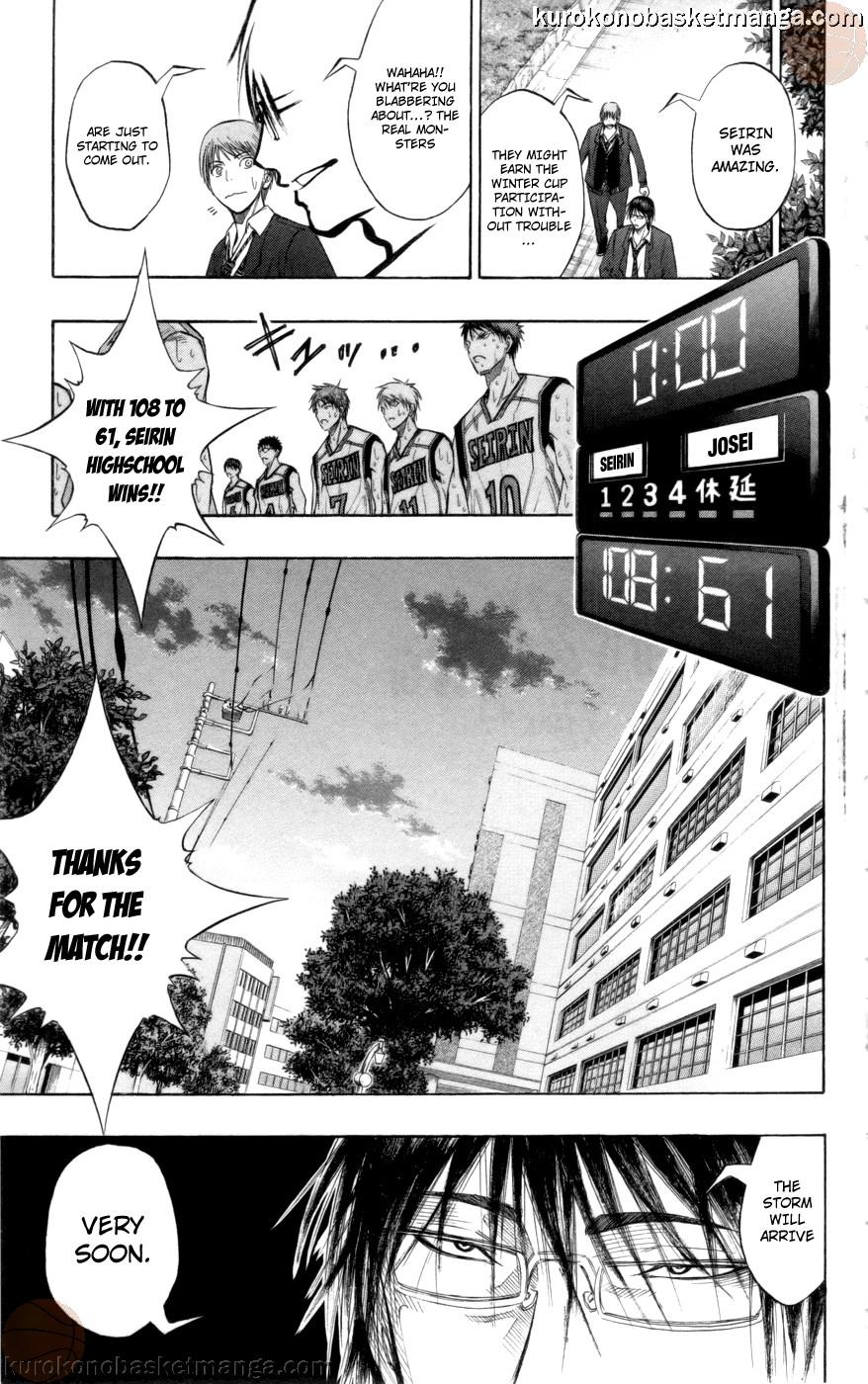 Kuroko no Basket Manga Chapter 83 - Image 19