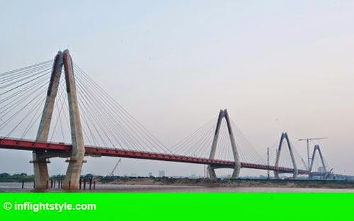 Hình 1: Hà Nội sẽ nối cầu Nhật Tân với đường Thanh Niên
