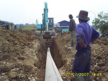 proyek pipa HDPE SEntul