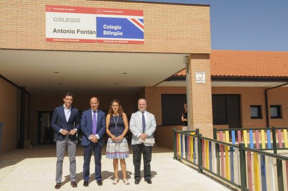 Ampliación del colegio público bilingüe Antonio Fontán de Montecarmelo