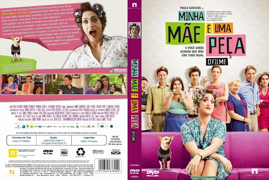 Baixar Filme Minha+M%25C3%25A3e+%25C3%2589+Uma+Pe%25C3%25A7a+ +Capa+Filme+DVD Minha Mãe é uma Peça (2013) BDRip AVi Nacional