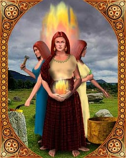 The Celtic Goddess Brighid Image