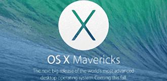 Mac OS X Mavericks disponible y de forma gratuita