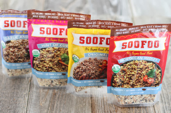 photo of 4 packages of SooFoo rice