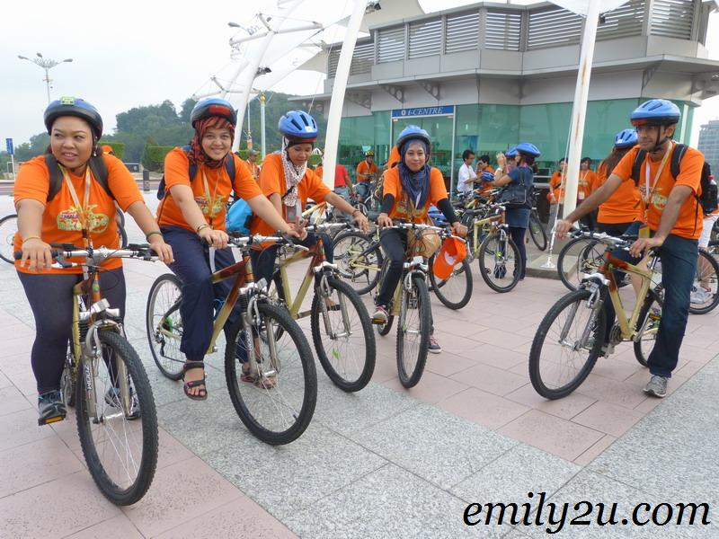 Cuti-Cuti 1 Malaysia Bike Ride @ Putrajaya
