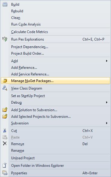 Running or debugging NUnit tests from Visual Studio without any ...