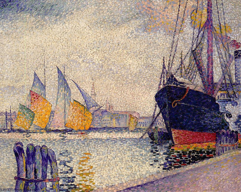 Henri-Edmond Cross - Canal de la Guidecca, Venice