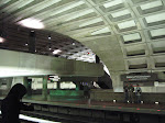 It's the DC Metro - I love the spacey subway stations