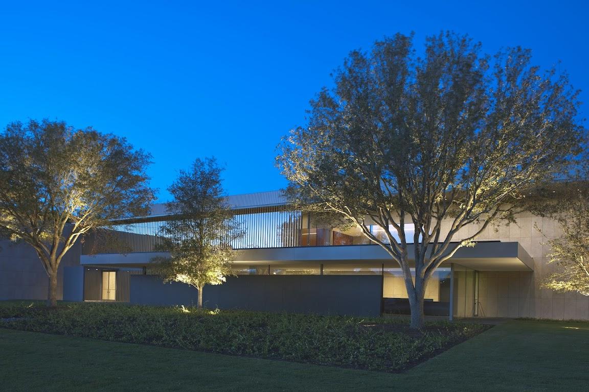 Asia Society Texas Center design by Yoshio Taniguchi