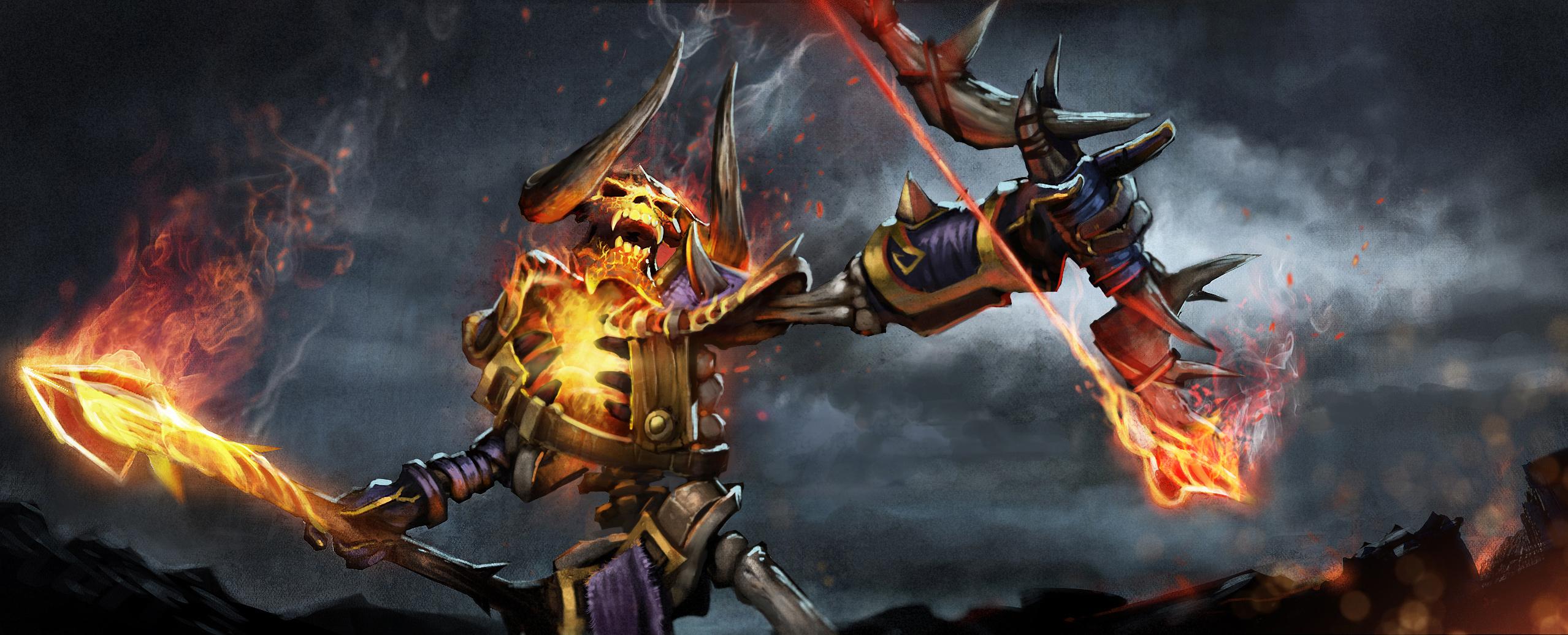 Loạt ảnh nguyên họa của các hero trong DotA 2 - Ảnh 13