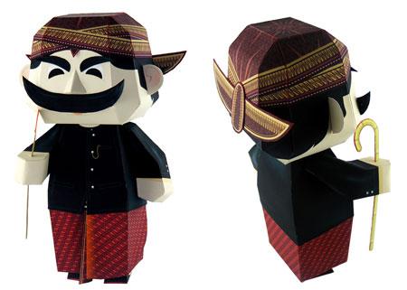Pak Raden Papercraft