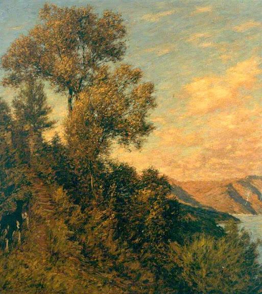 Henry Herbert La Thangue - A Ligurian Gulf