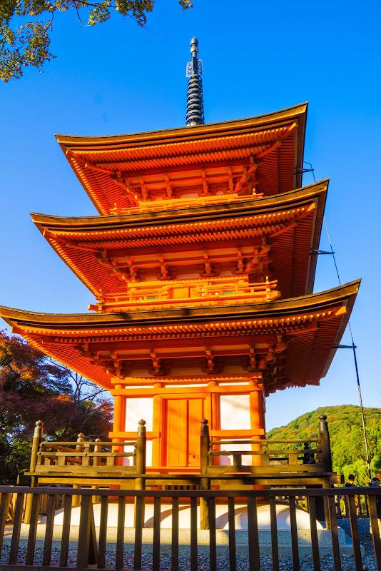 京都 紅葉 清水寺 写真7