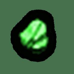 碎裂的綠寶石