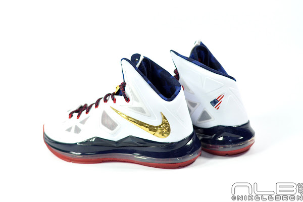 The Showcase Nike LeBron X Gold Medal  USA Basketball