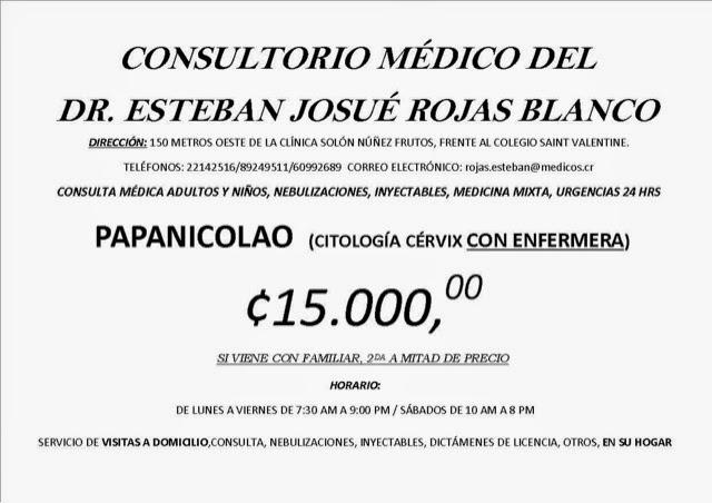 costo consulta medica costa rica