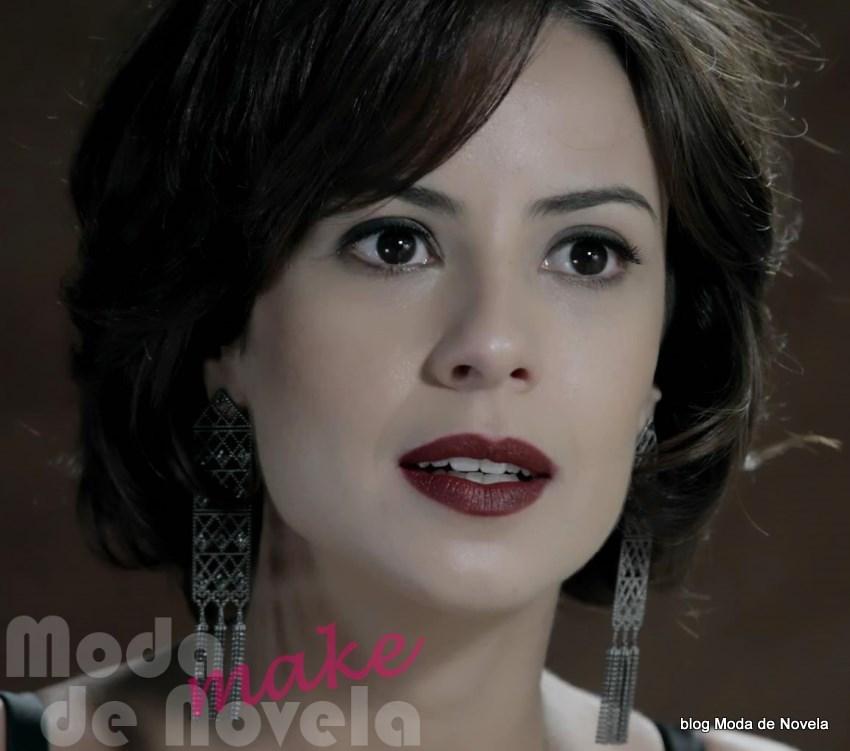 maquiagem da novela Império - Maria Clara na festa da joalheria