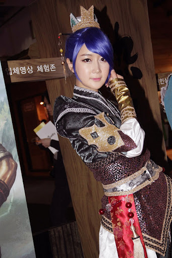 Han Chae Yee gợi cảm cùng cosplay Yulgang 2 9