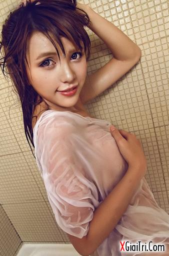 xgiaitri.com ateru Ảnh sex girl xinh đang tắm