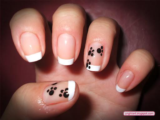 Modele de unghii cu labute
