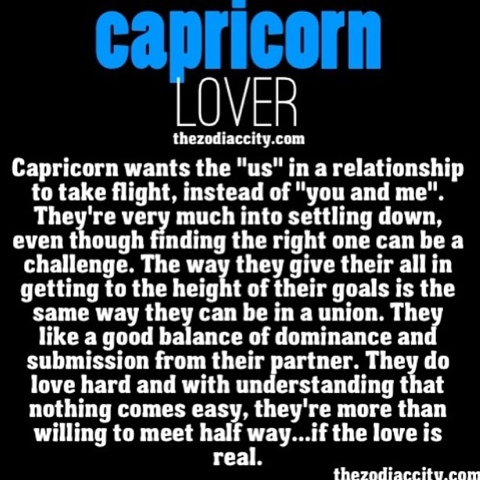 Capricorn guy likes you