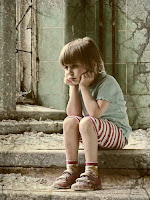 Sulking Child - Image © Joana Virck-Alevra at aboutpixel.de