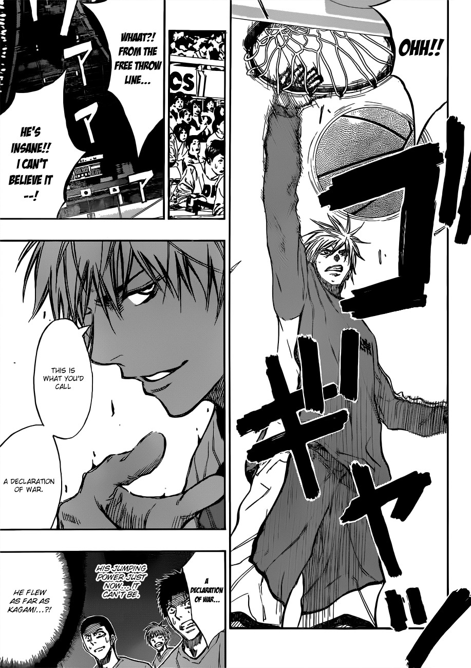 Kuroko no Basket Manga Chapter 183 - Image 15