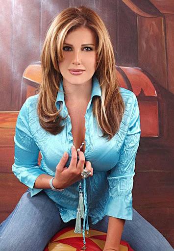 Arab Model Tina sitting