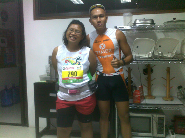 with Ralph Sios-e, top tri-athlete half ironman based in Cebu, Philippines