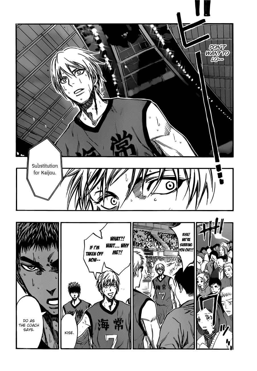 Kuroko no Basket Manga Chapter 190 - Image 10