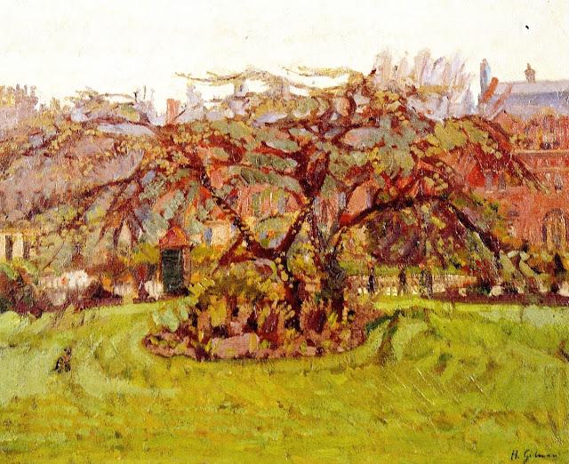 Harold Gilman - Clarence Garden