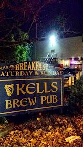 Kells Brew Pub on 210 NW 21st Ave, Portland has its own little mini parking lot