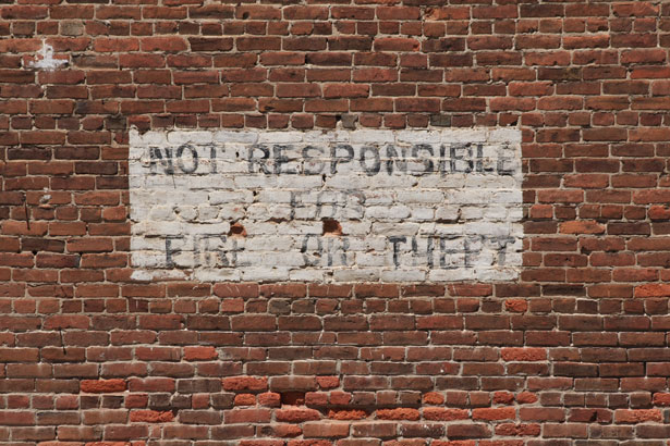Image credit: Brick Wall with Painted Sign by Andrew Schmidt
