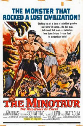Minotaur The Wild Beast Of Crete