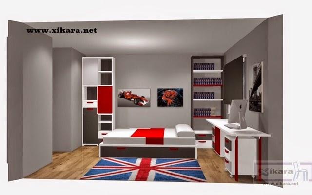 Dormitorios juveniles modernos hombres otra tendencia for Bona nit muebles