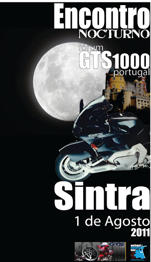 GTS invadem Sintra à noite... CartazGTSsintra