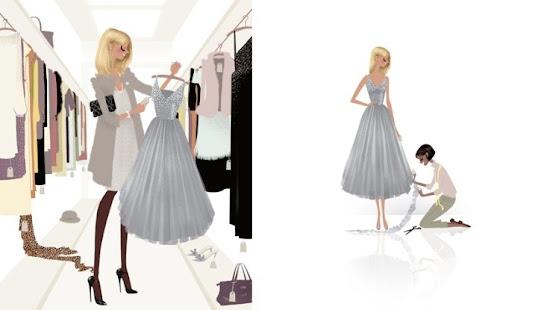 Adrian Valencia Fashion Illustrations Shopping
