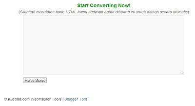 Cara Membuat HTML Parse Kode Box Di Blogger
