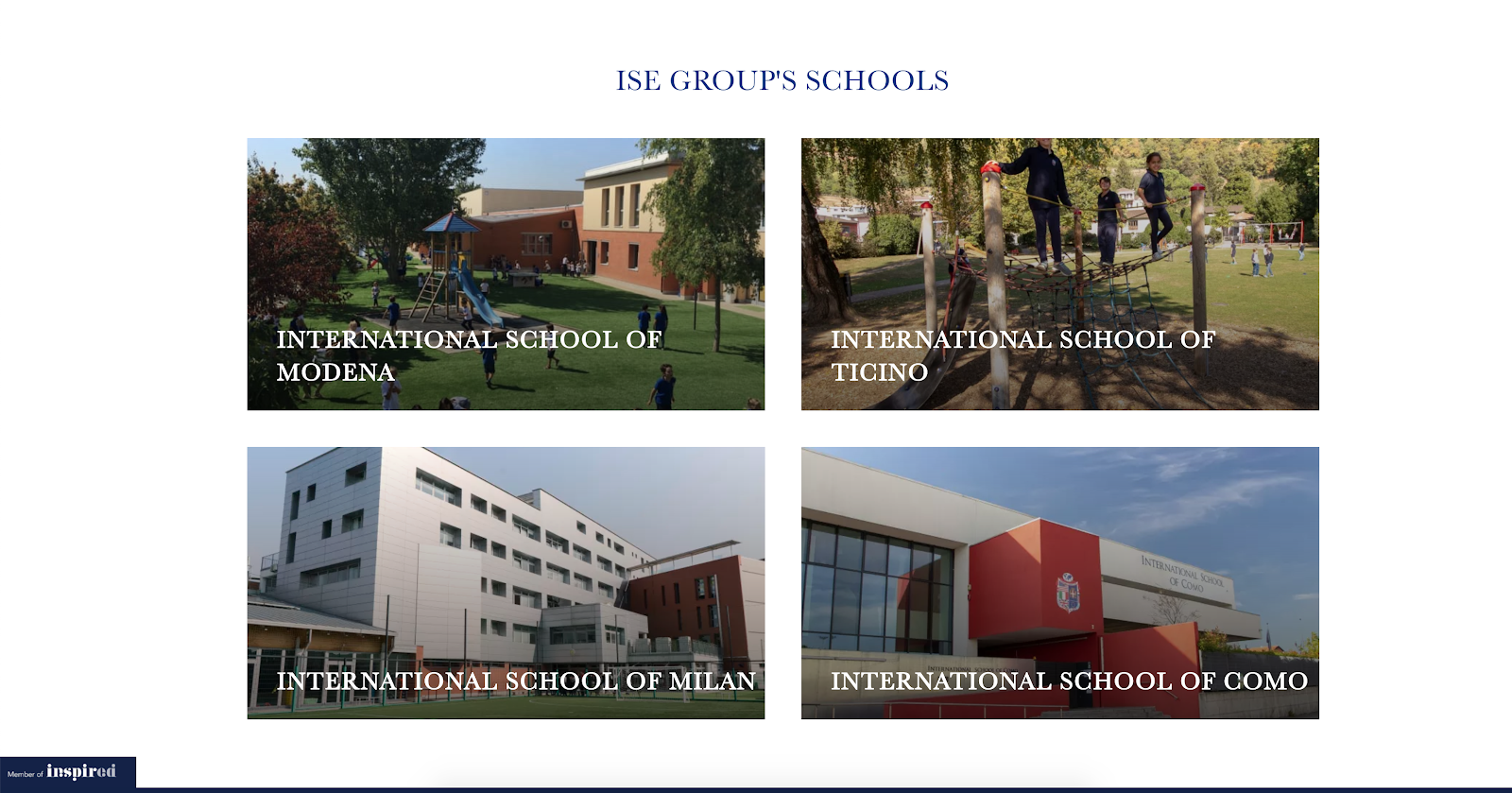 International School of Monza campus images