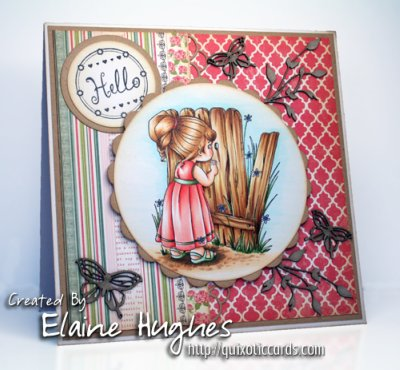 Elisabeth Bell stamps at Quixotic Paperie!