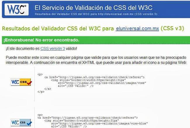 css validator