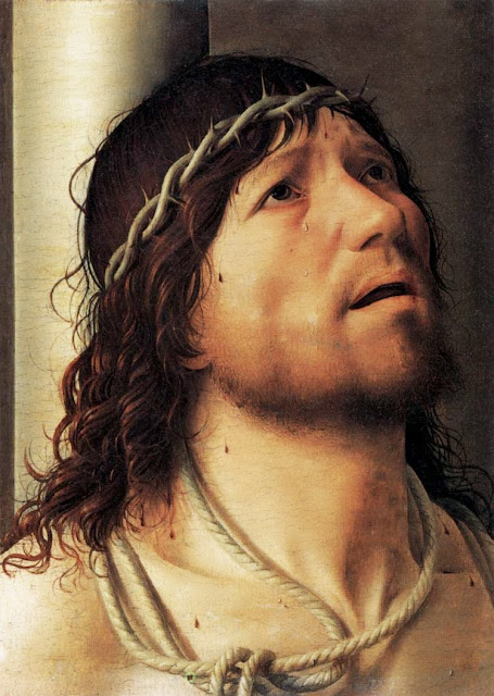 Antonello da Messina - Christ at the Column.