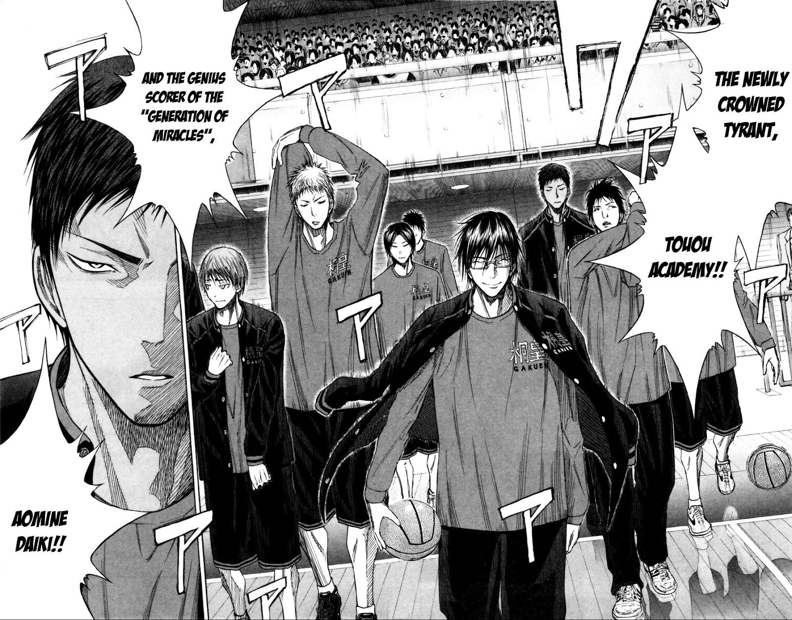 Kuroko no Basket Manga Chapter 114 - Image 10-11