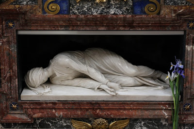 St Cecilia - tomb at Trastevere - Rome