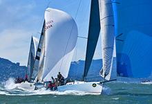 J/125s sailing San Francisco Bay