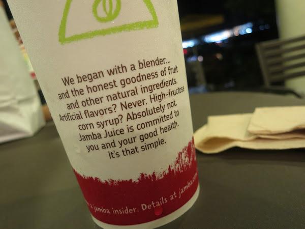 Jamba Juice's promise