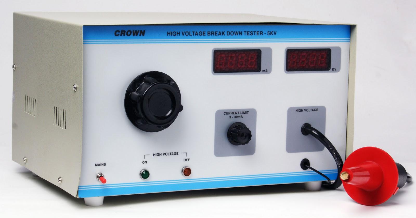 High Voltage Tester Manufacturers : High voltage breakdown tester manufacturers rajasthan
