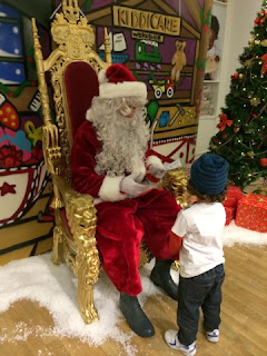 Kiddicare father christmas grotto