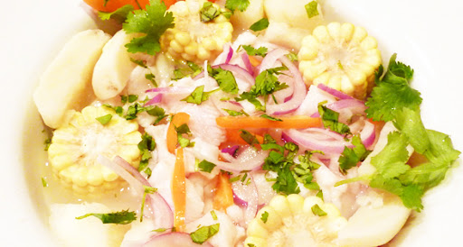 Tasty Fish (and Shrimp) Ceviche Recipe (low sodium)